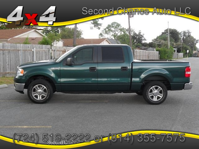 2007 Ford F-150 XLT SuperCab Long Box 4WD 4-Speed Automatic